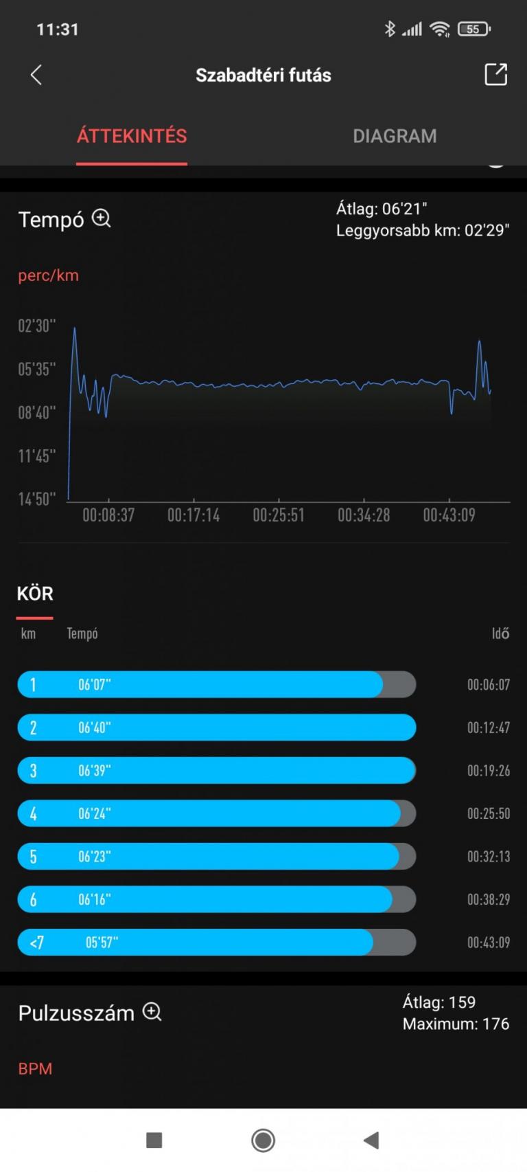 Xiaomi Amazfit GTR 2 sportóra teszt 35