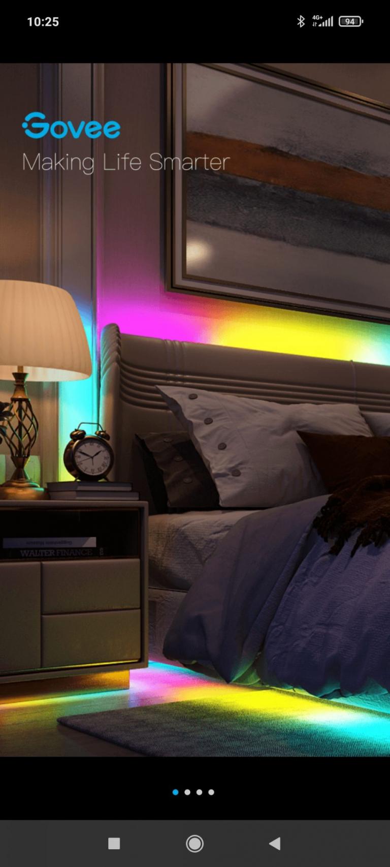 Govee programozható LED szalag teszt 8