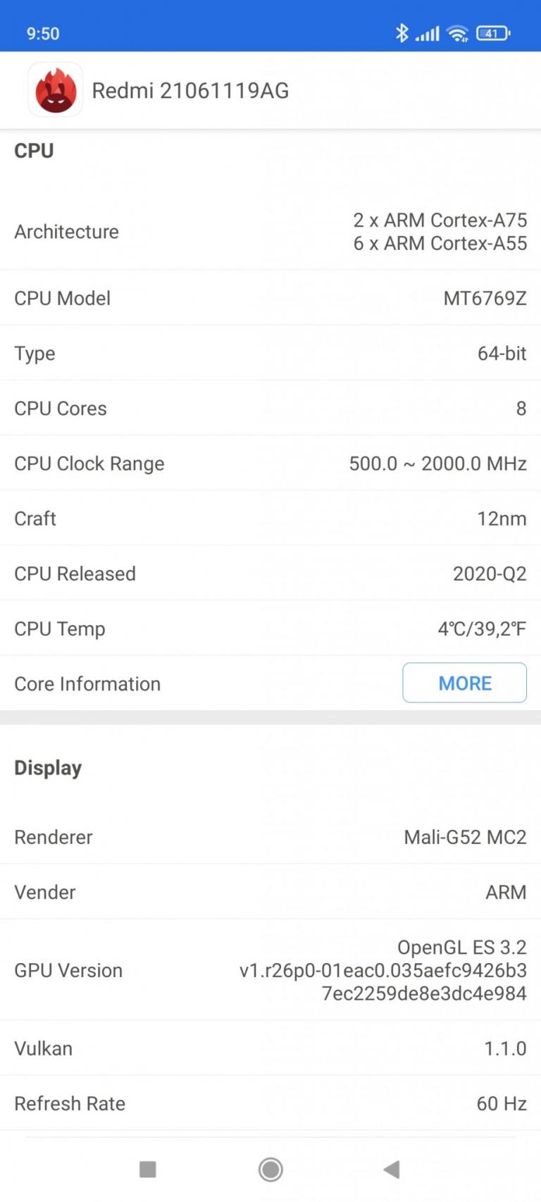 Xiaomi Redmi 10 okostelefon teszt 21