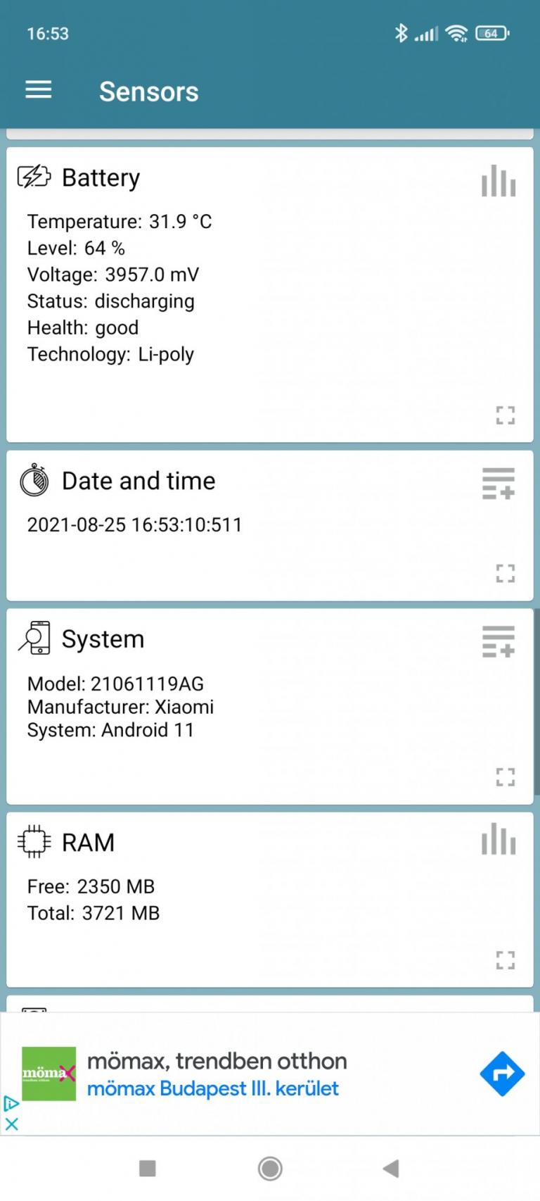 Xiaomi Redmi 10 okostelefon teszt 34