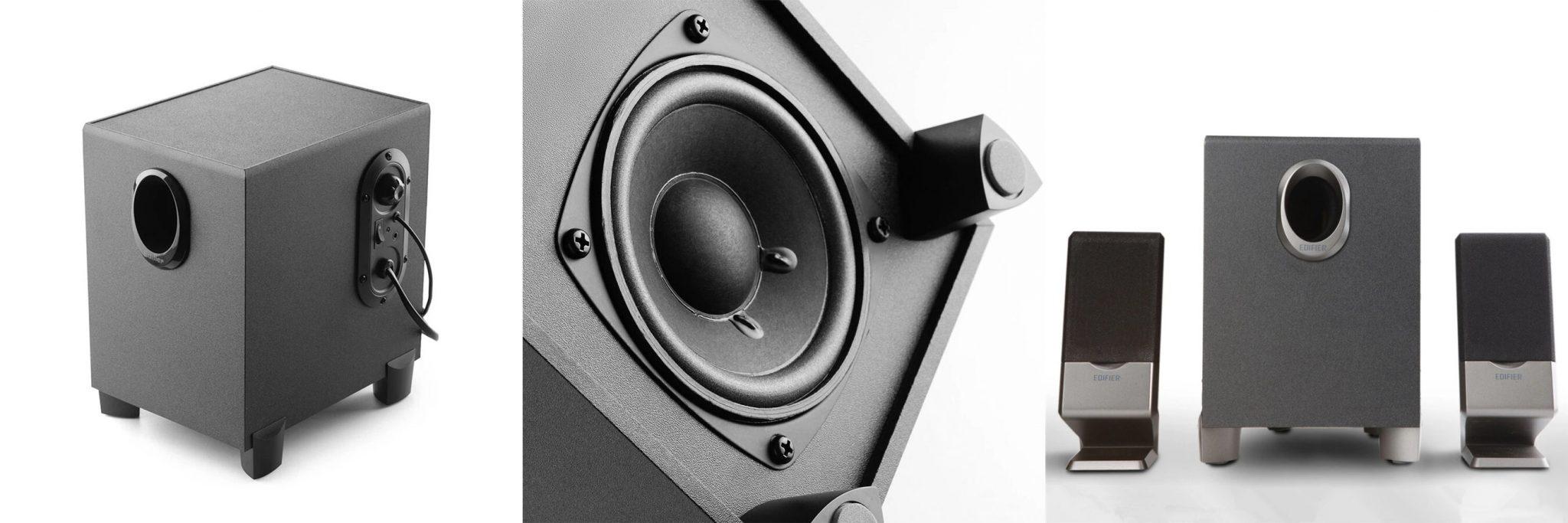 Edifier R101V 2.1-es hangfalszett teszt 11