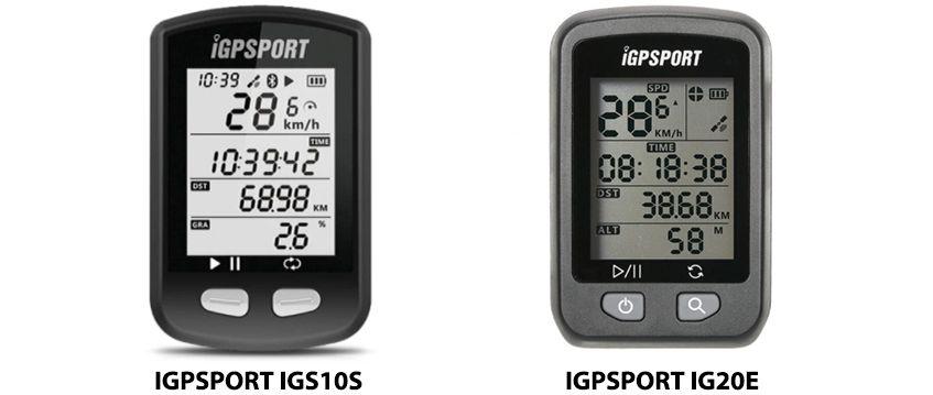 IGPSPORT IGS10S és IGS20E kerékpár komputer teszt 2