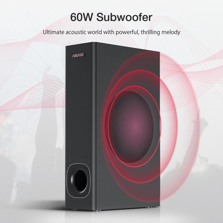BlitzWolf AA-SAR3 hangprojektor teszt 15