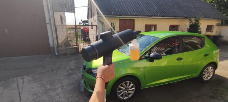 Baseus akkumulátoros magasnyomású mosó teszt 25