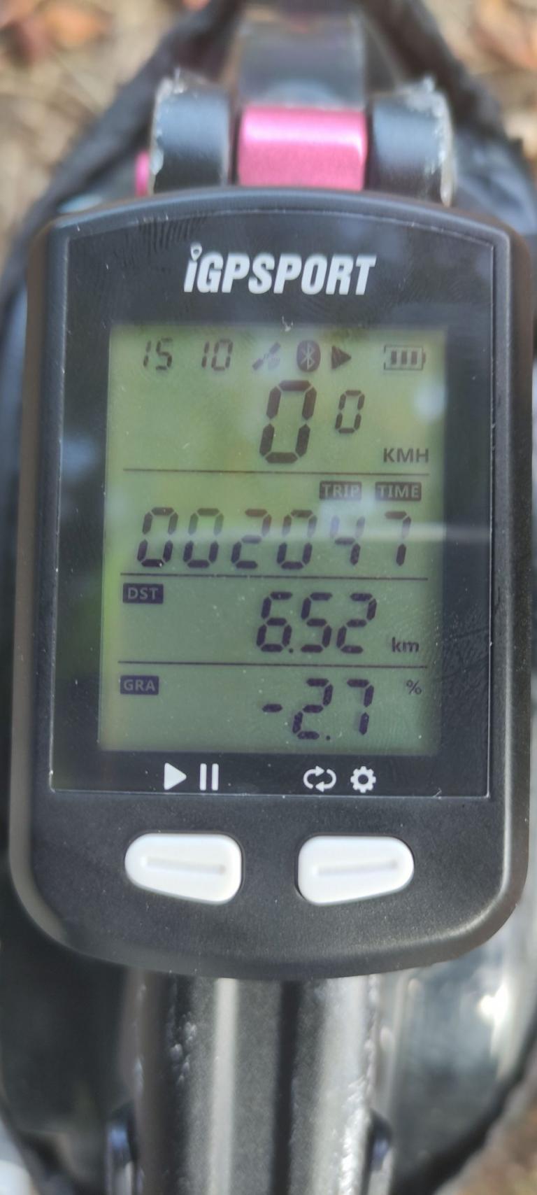 IGPSPORT IGS10S és IGS20E kerékpár komputer teszt 4