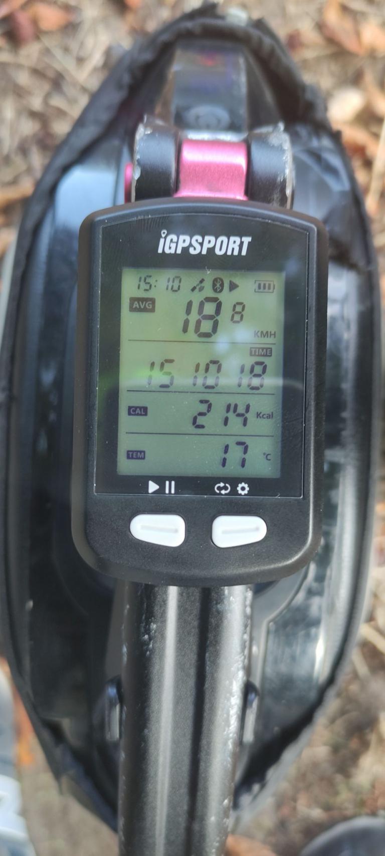IGPSPORT IGS10S és IGS20E kerékpár komputer teszt 5