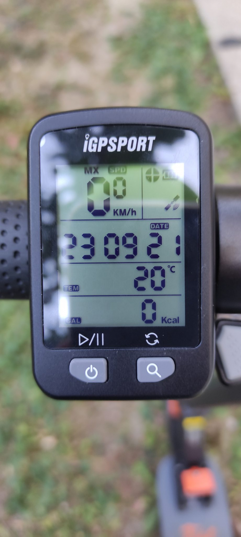 IGPSPORT IGS10S és IGS20E kerékpár komputer teszt 8