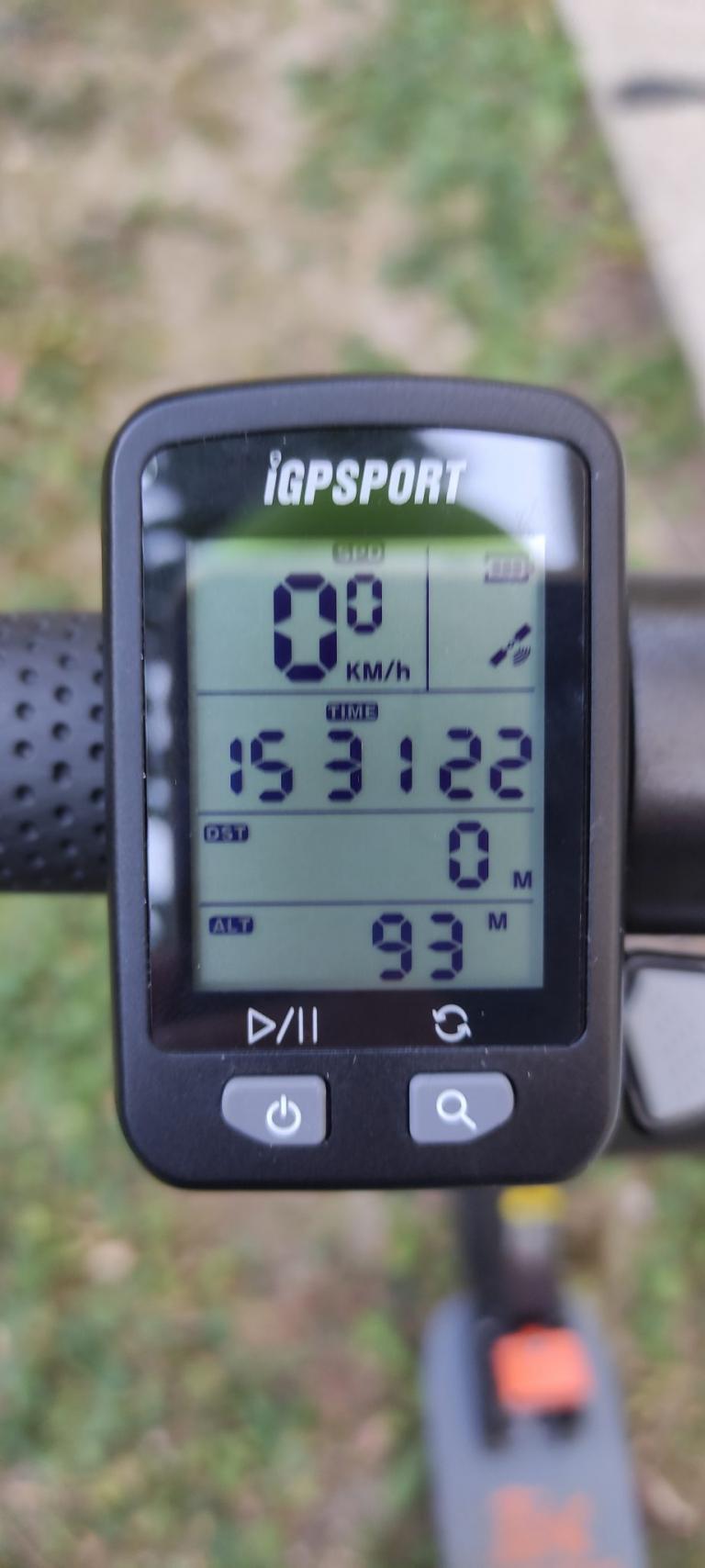 IGPSPORT IGS10S és IGS20E kerékpár komputer teszt 9