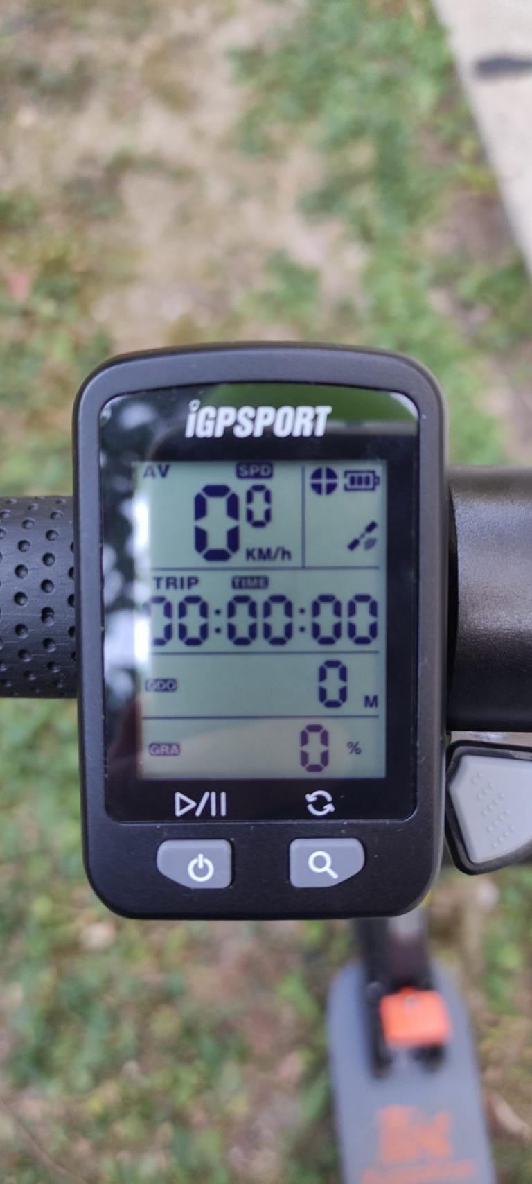 IGPSPORT IGS10S és IGS20E kerékpár komputer teszt 10