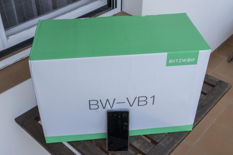 BlitzWolf BW-VB1 multifunckiós robotgép teszt 2