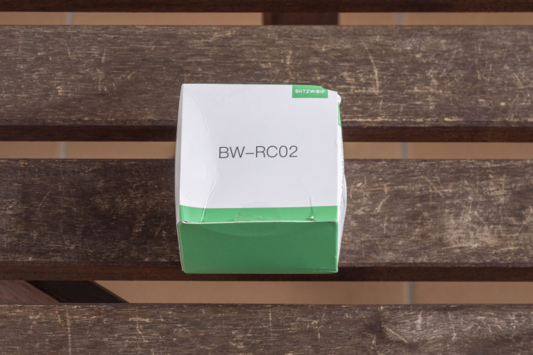 BlitzWolf BW-RC02 infravörös vezérlő teszt 2