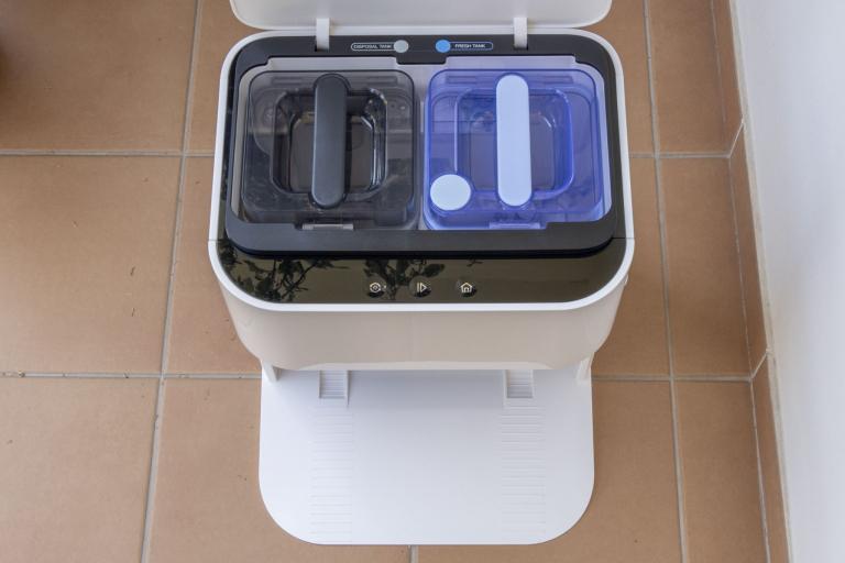 Yeedi robotporszívó és felmosóállomás teszt 3