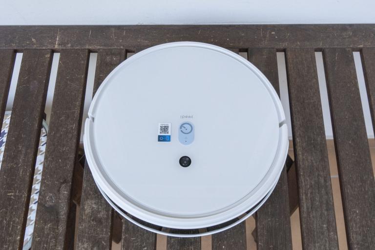 Yeedi robotporszívó és felmosóállomás teszt 12