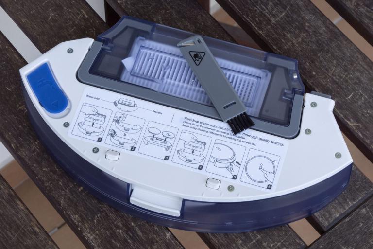 Yeedi robotporszívó és felmosóállomás teszt 18