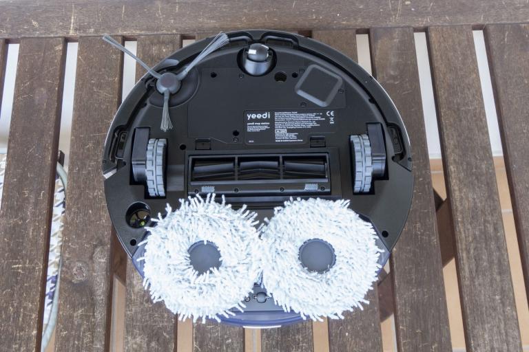 Yeedi robotporszívó és felmosóállomás teszt 21