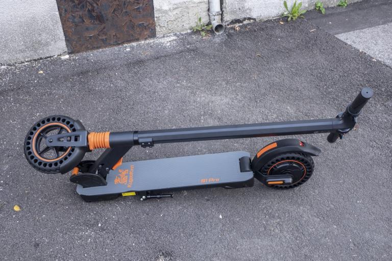 KugooKirin S1 Pro elektromos roller teszt 2