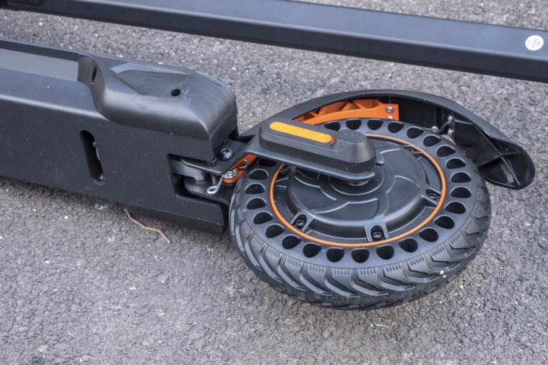 KugooKirin S1 Pro elektromos roller teszt 13