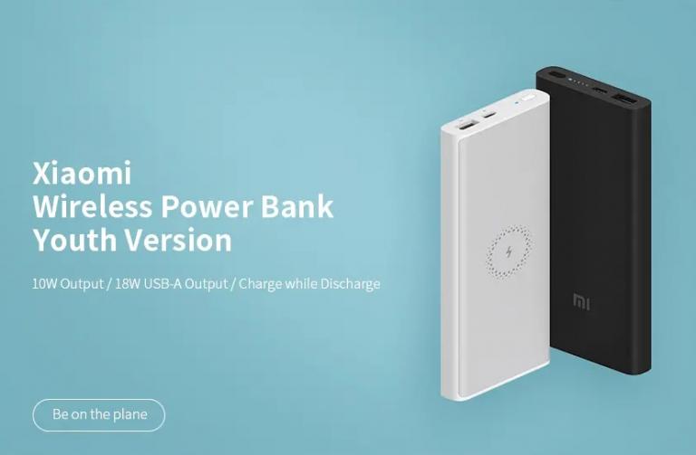 Vezeték nélküli töltős Xiaomi powerbank akció 2