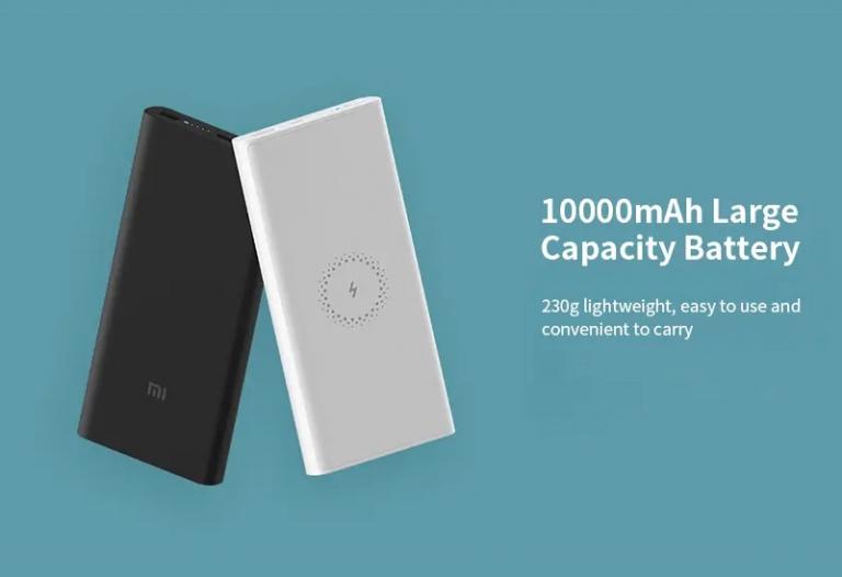 Vezeték nélküli töltős Xiaomi powerbank akció 7