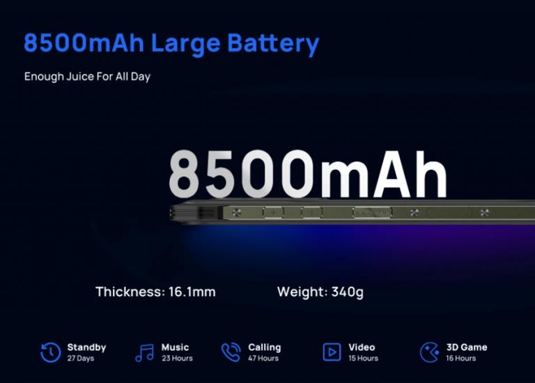 5G-vel és gyorstöltéssel érkezett a Doogee V10 3