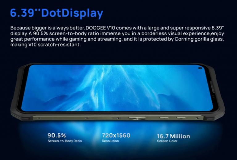 5G-vel és gyorstöltéssel érkezett a Doogee V10 11