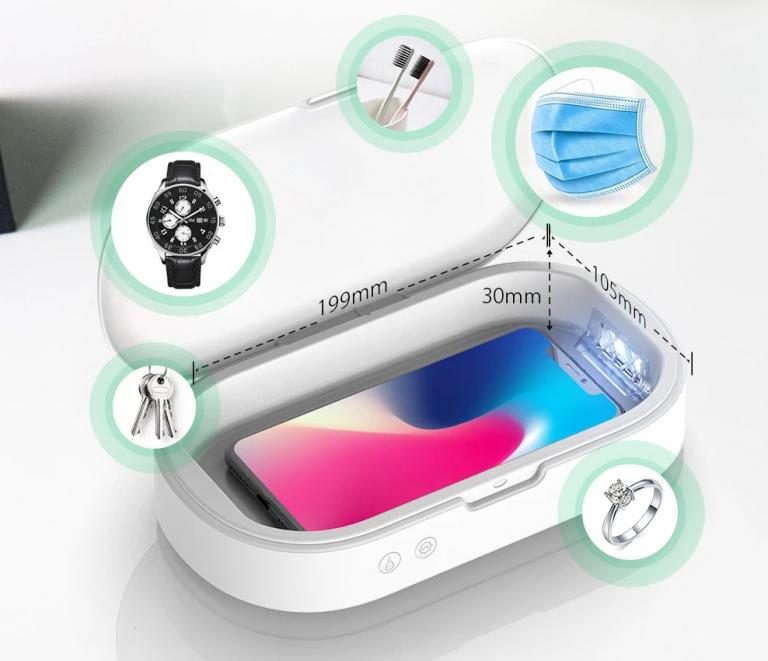 UV sterilizáló box rendelhető alacsony áron 3