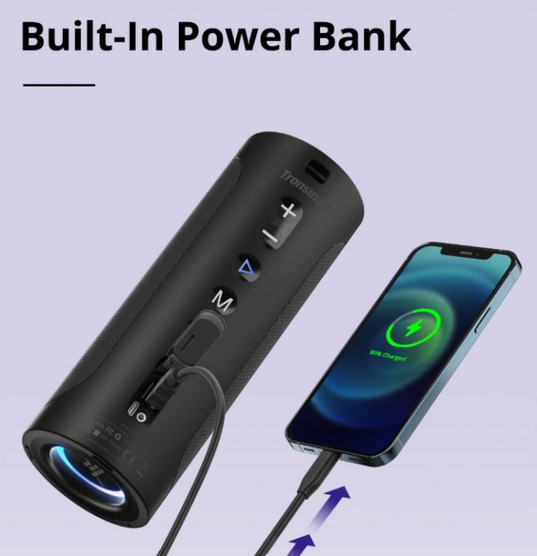 Végre olcsón rendelhető a Tronsmart T6 Pro Bluetooth hangszóró 7
