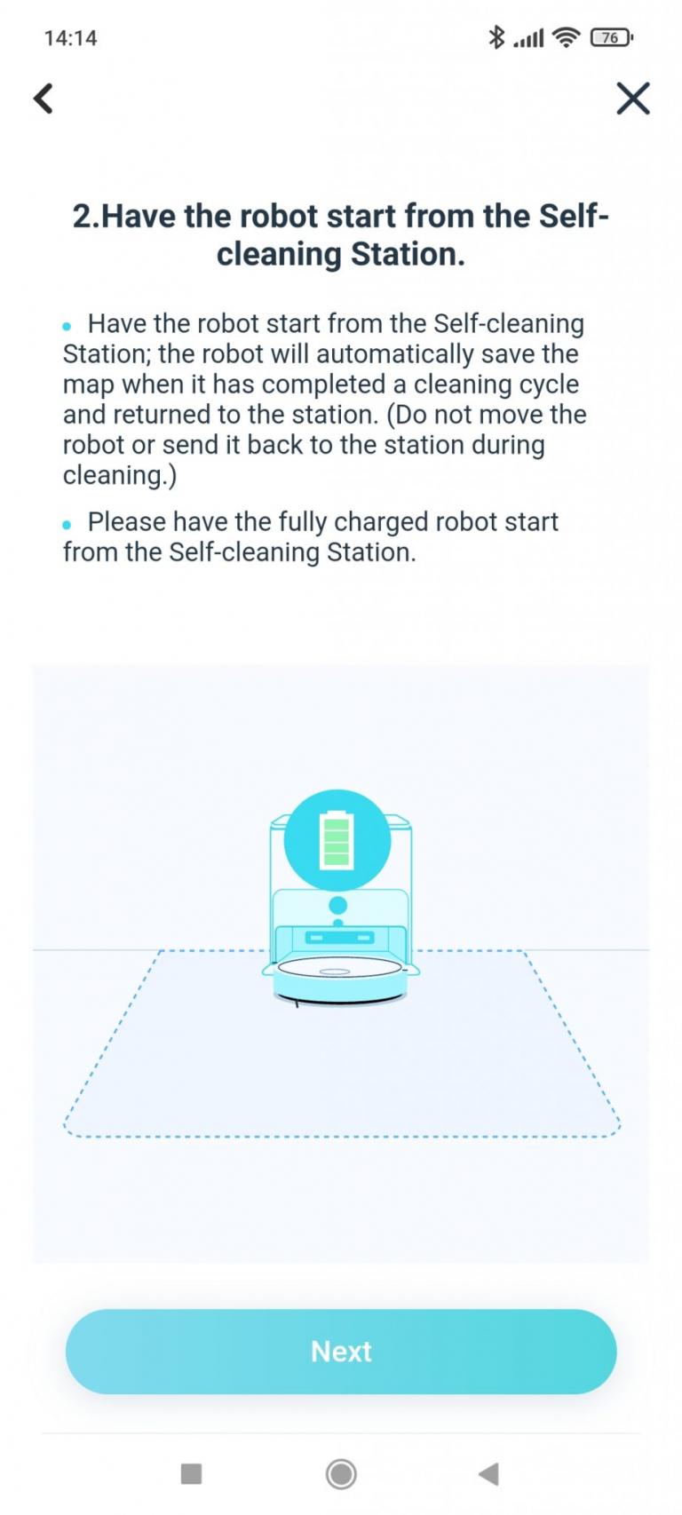 Yeedi robotporszívó és felmosóállomás teszt 31