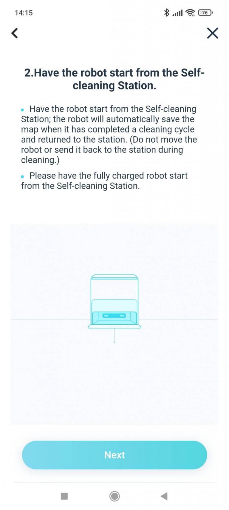 Yeedi robotporszívó és felmosóállomás teszt 32