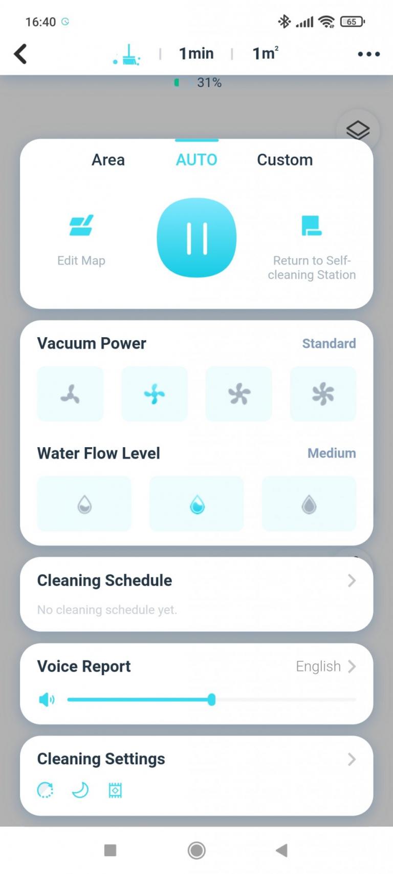 Yeedi robotporszívó és felmosóállomás teszt 34