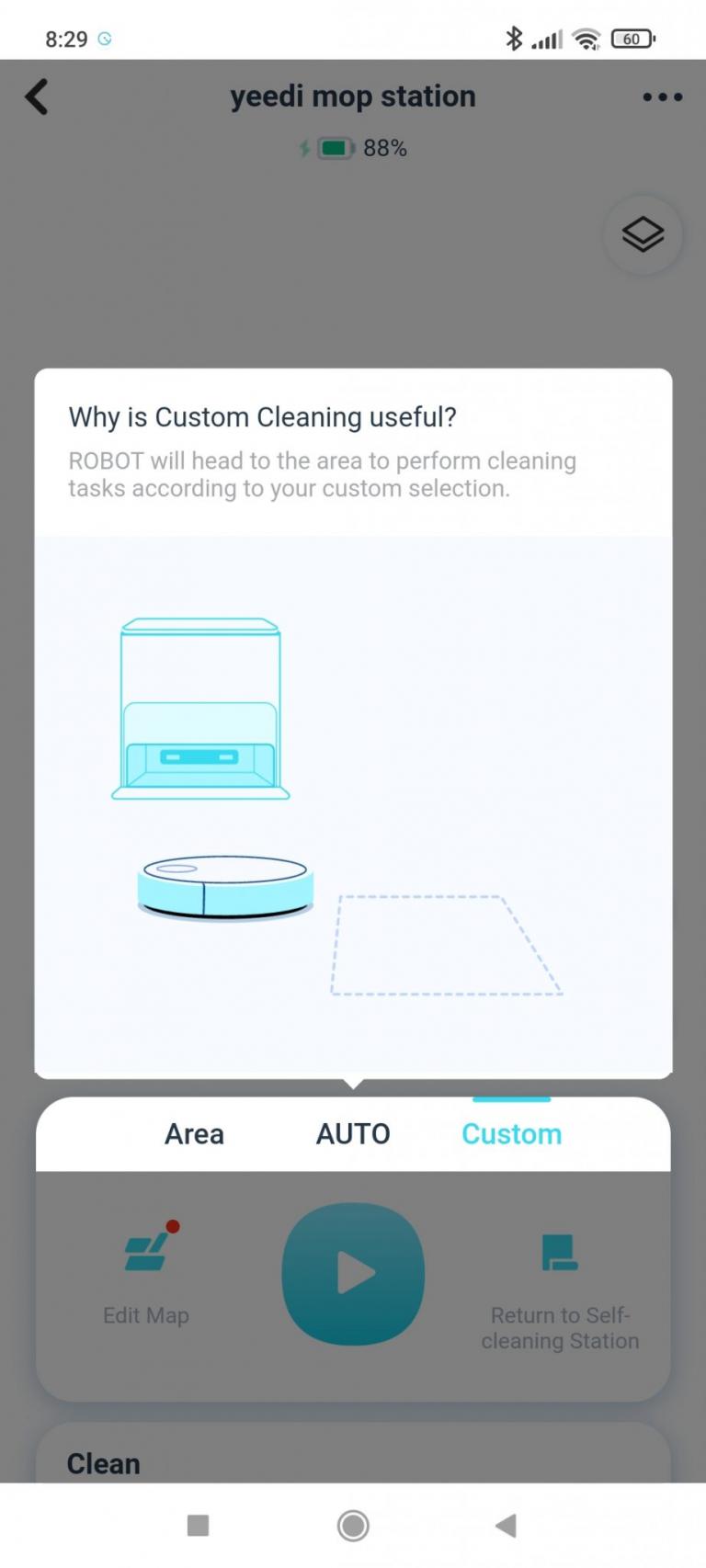 Yeedi robotporszívó és felmosóállomás teszt 39