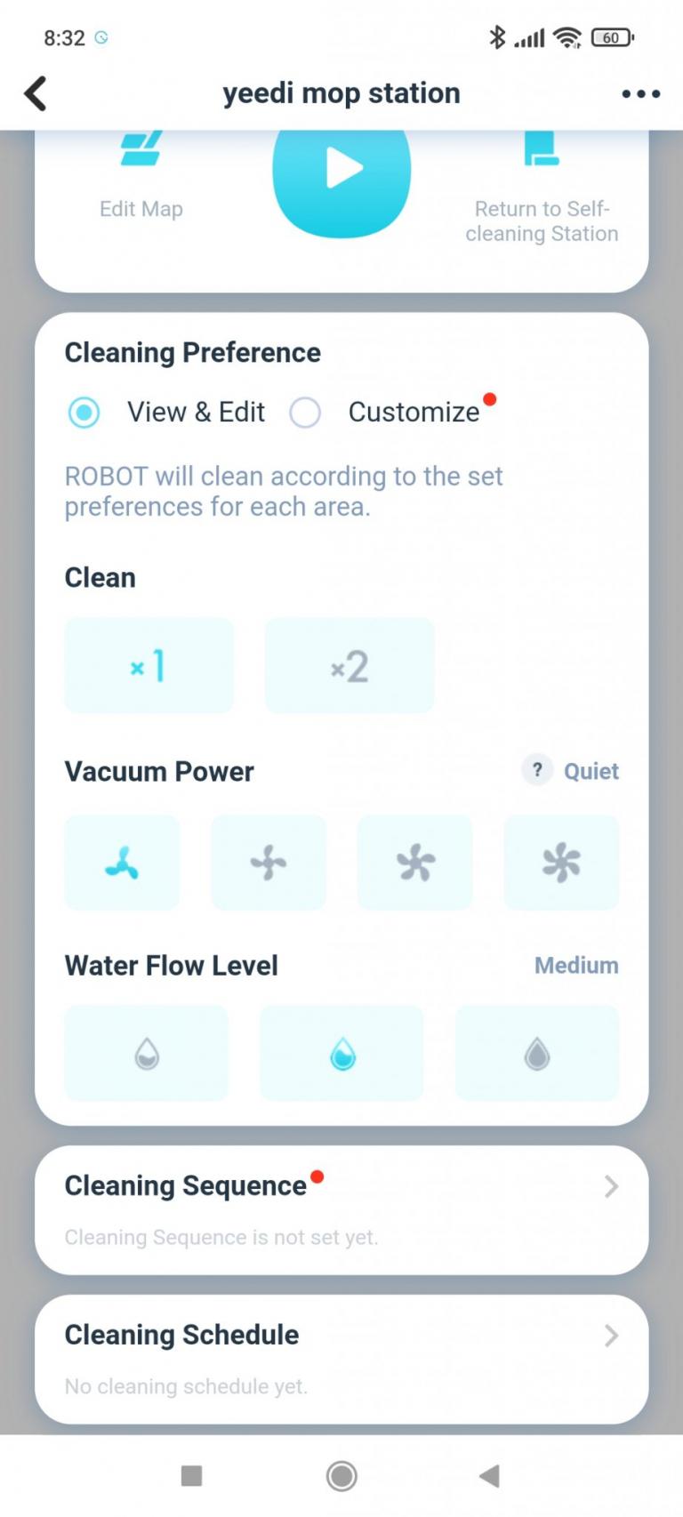 Yeedi robotporszívó és felmosóállomás teszt 44