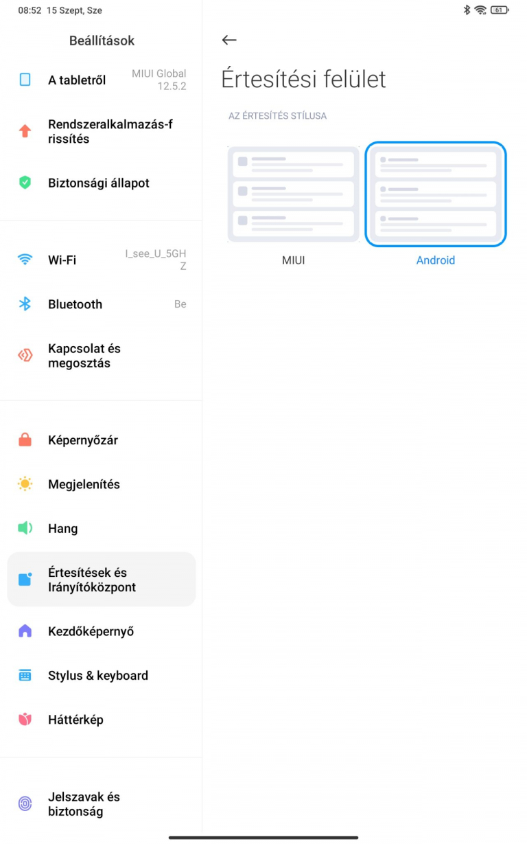 Xiaomi Pad 5 (Global version) tablet teszt 22