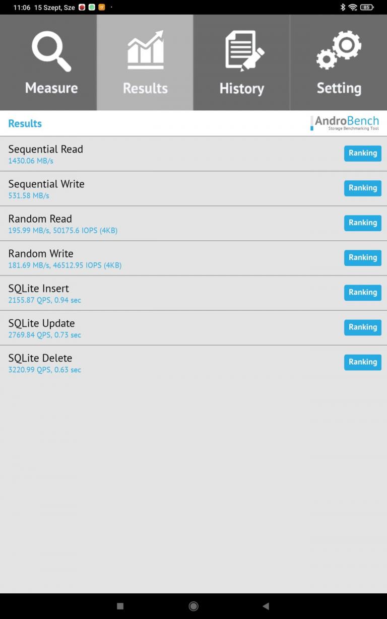 Xiaomi Pad 5 (Global version) tablet teszt 34
