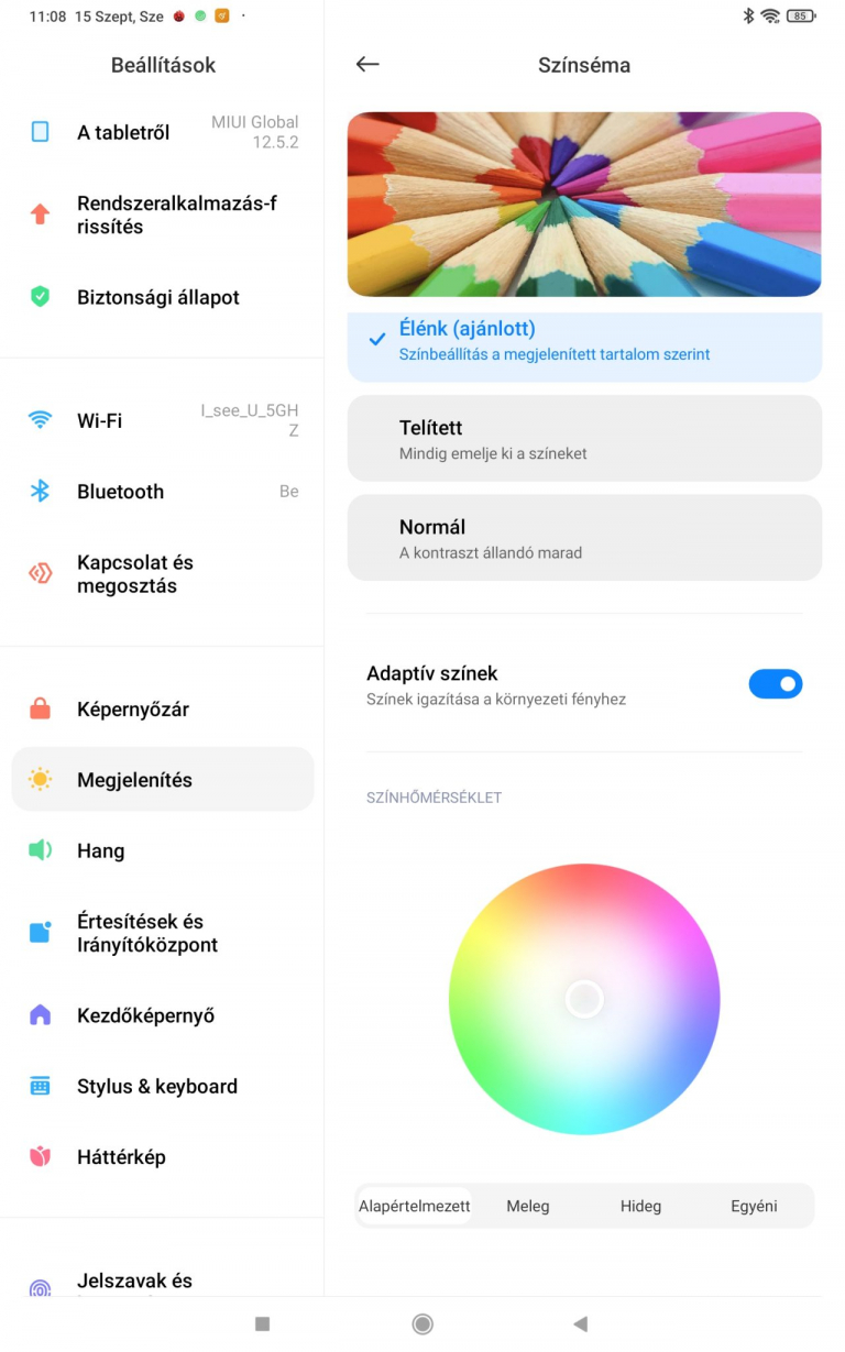 Xiaomi Pad 5 (Global version) tablet teszt 36