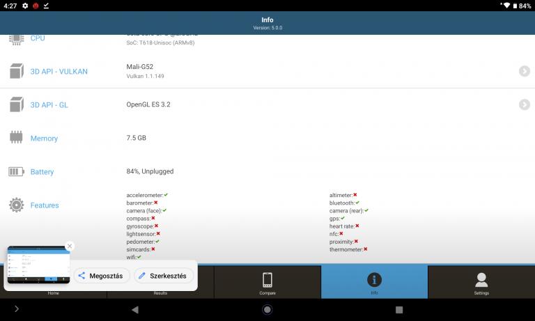 Teclast T40 Plus tablet teszt 15