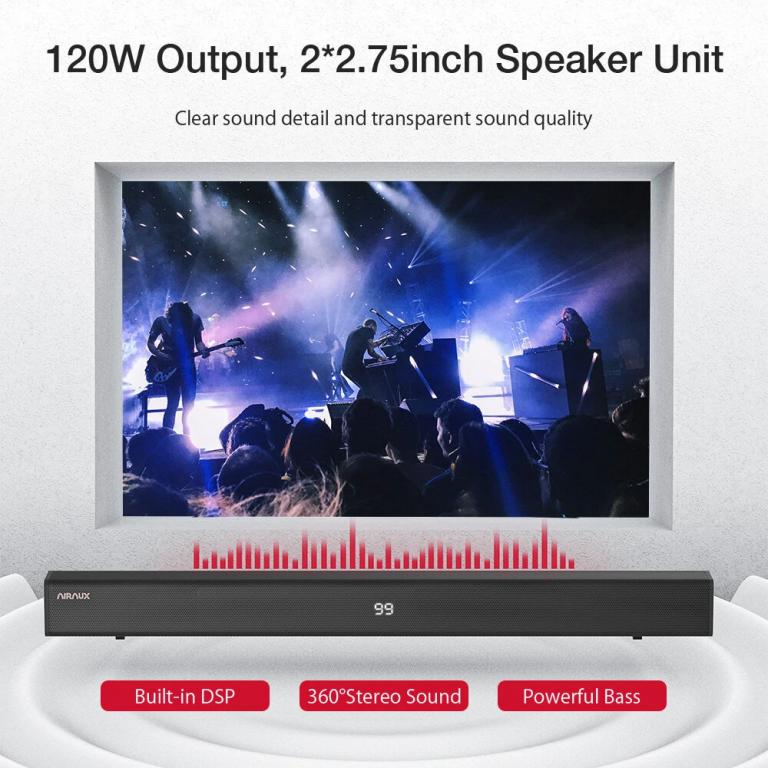 BlitzWolf AA-SAR3 hangprojektor teszt 16