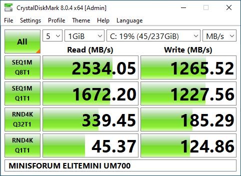 MinisForum EliteMini UM700 mini PC teszt 37