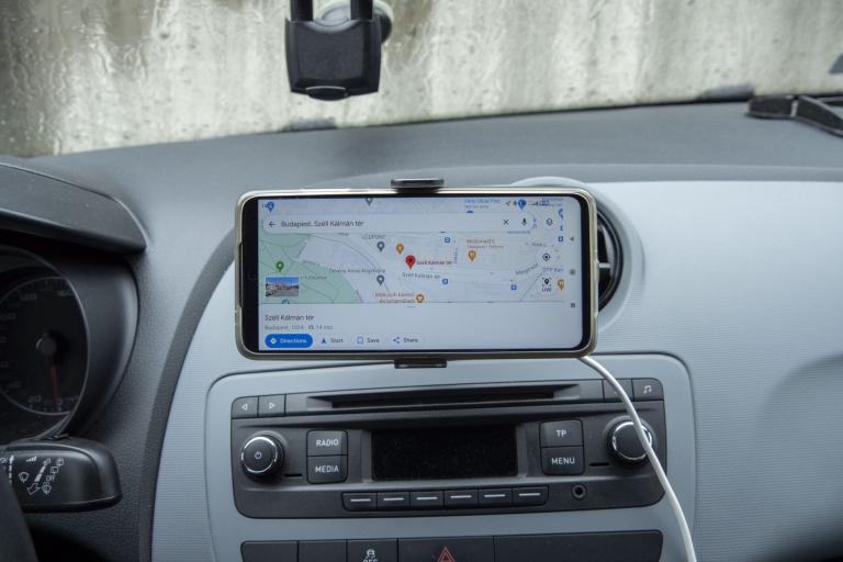 BlitzWolf BW-CF2 autós telefontartó teszt 11